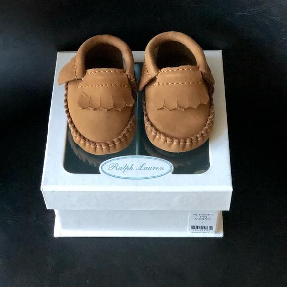Ralph Lauren Infant Moccasins Size 6